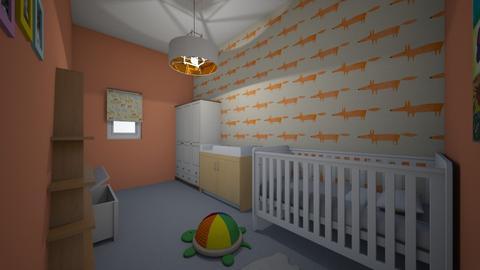 Animal Nursery - Eclectic - Kids room  - by seahorsesteph