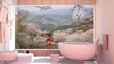 Roses Roses Roses - Bathroom  - by KittyKat28