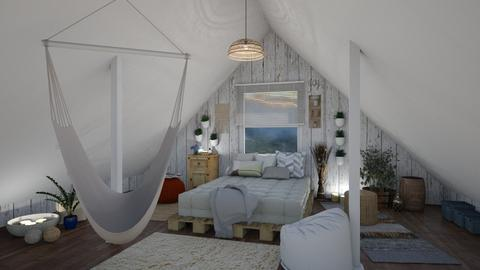 Vintage loft - Vintage - Bedroom  - by dejovicm