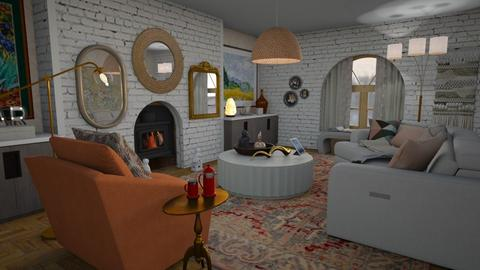 Winter warm - Eclectic - Living room  - by augustmoon