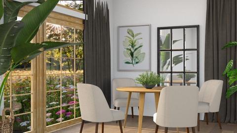Silhouette - Minimal - Dining room  - by LuluDesignStyle