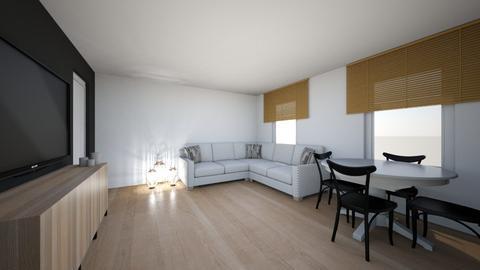 salon kamila  - Living room  - by kamila2707