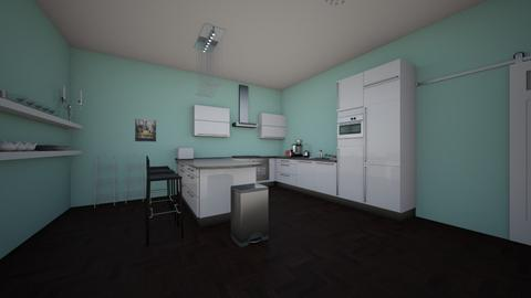 1A Simone  - Kitchen - by shayden