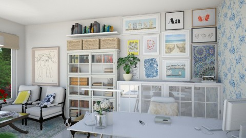 Home Office for Kelly - Office - by daniellelouw