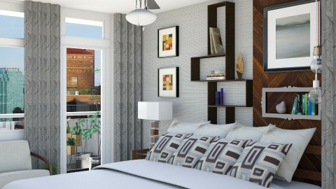 Bedroom redesign 1 - Modern - Bedroom  - by JayPH