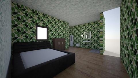 apartaestudio mini - Rustic - Bedroom  - by davidalcaravan