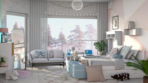 Pastel Mornings - Feminine - Bedroom - by WubMaxWax