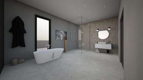 Basic Bathroom - by homedisigner