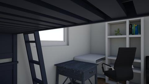 Bedroom and Bathroom CAD - Bedroom  - by Liam Laffan