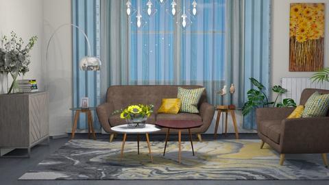 Sunflower - Living room  - by snjeskasmjeska