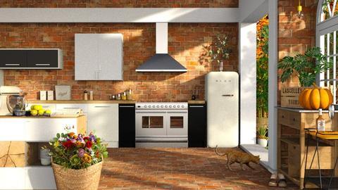 farmhouse  - Modern - Kitchen  - by RimaNina