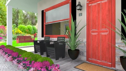bungalow - Garden  - by myideas interiors