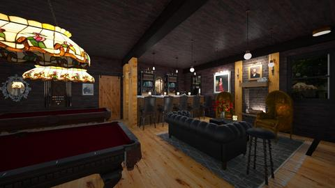 Moody Basement Snooker Cl - Masculine - by ANM_975