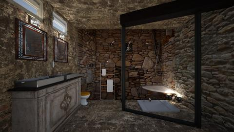 stone - Bathroom - by faylynn96