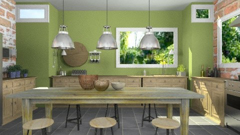 OliveKitchen - Modern - Kitchen  - by StienAerts