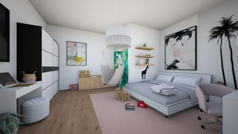 eva_bed18062020 - Bedroom - by jezek1
