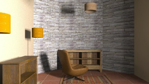 Oficina  - Rustic - Office  - by patwp