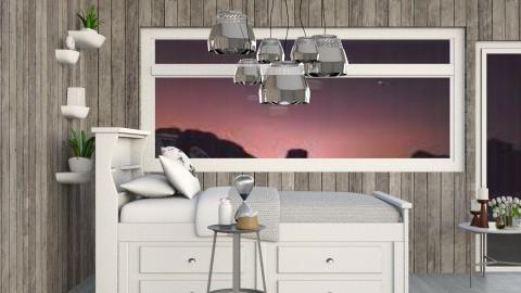 Bedtime By the Bay  - Modern - Bedroom  - by InteriorDesigner111
