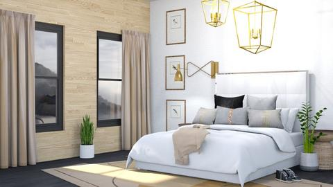 Soft Remix - Modern - Bedroom  - by Isaacarchitect