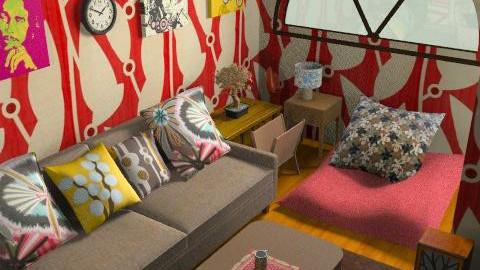 bobi - Retro - Living room  - by mogly