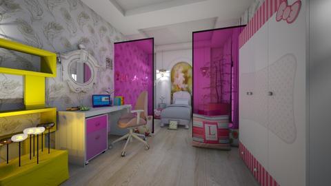 Lauras Room - Classic - Kids room - by Nikos Tsokos