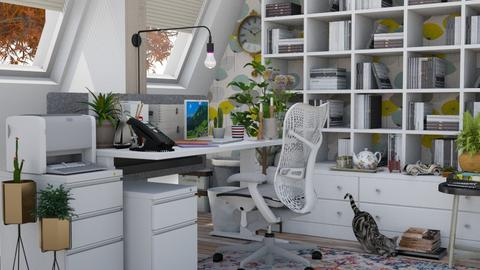 Home office - Modern - Office  - by HenkRetro1960