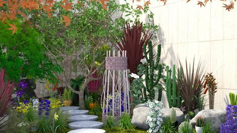 Basement Garden 2 - Modern - Garden  - by Isaacarchitect
