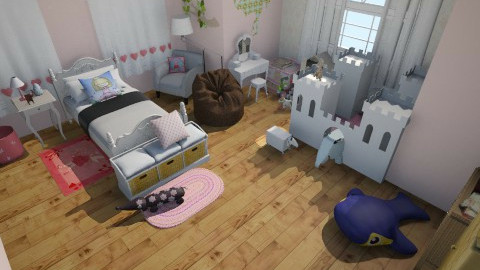 A little princess - Classic - Kids room  - by HoneyBunches171