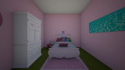 teenager bed room - Bedroom  - by Johanna Geary