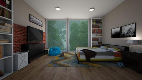 Rainy - Bedroom  - by michaelneilldesigns