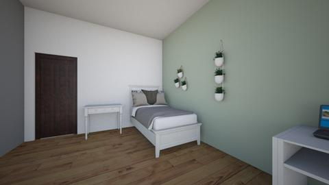 cuarto  - Minimal - Bedroom  - by ilseee