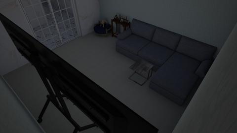 grandma_grandpa - Modern - Living room  - by mangocookie