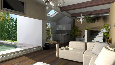 basement living in LA - Modern - by AndreaMTorres1