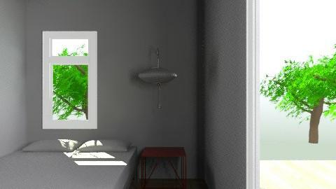 CASA BASICA con muebles - Retro - Kitchen  - by cibelles