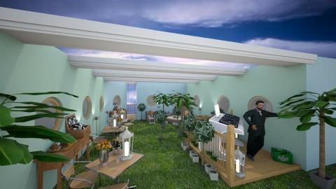 ibiza courtyard - Eclectic - Garden  - by CARMEND70