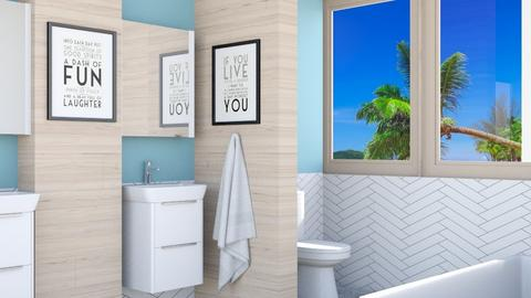 GrayWhite - Bathroom  - by Norbosa