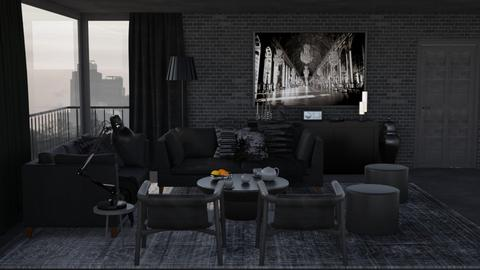 Darkness - Modern - Living room - by HenkRetro1960
