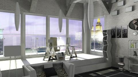 Architect's office - Modern - Office  - by KittiFarkas