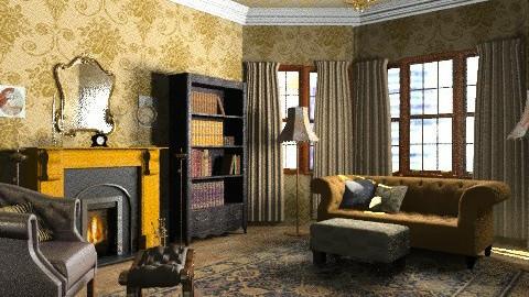 cosy vintage - Vintage - Living room  - by umrah