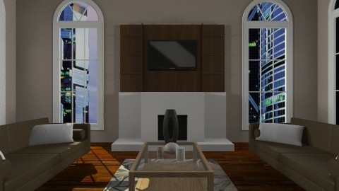 Uptown - Living room - by Adria Alex