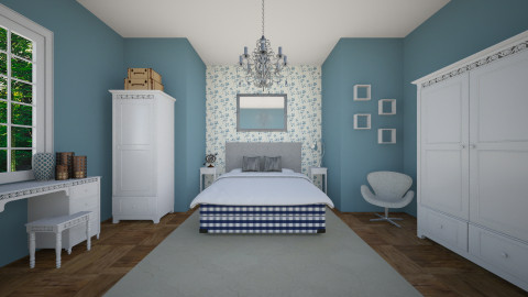 hastens bedroom - Bedroom  - by aerifia