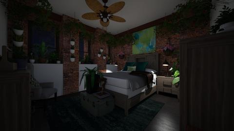 Eden in the City Night 1 - Bedroom  - by SammyJPili