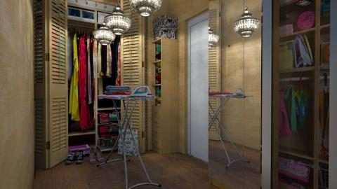 Walk in Closet - by Ida Dzanovic