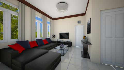 CMJ_Living Area - Living room - by ClaveriaCarla