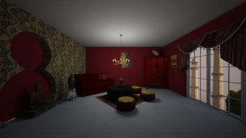 Indian living - Living room  - by Noa Jones