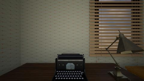 Old Family Home Desk - Bedroom  - by mspence03