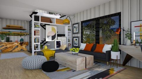 Containers Living Room - Modern - Living room  - by katarina_petakovi