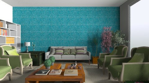 State room Ivy Banner - Country - Office  - by Oliveira Fabio