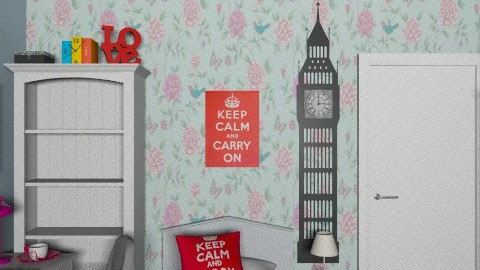 Mybea design - Feminine - Bedroom - by lopez_rica