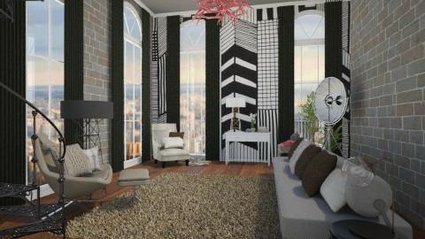 loft NY - Vintage - Living room  - by Joseph Espinoza